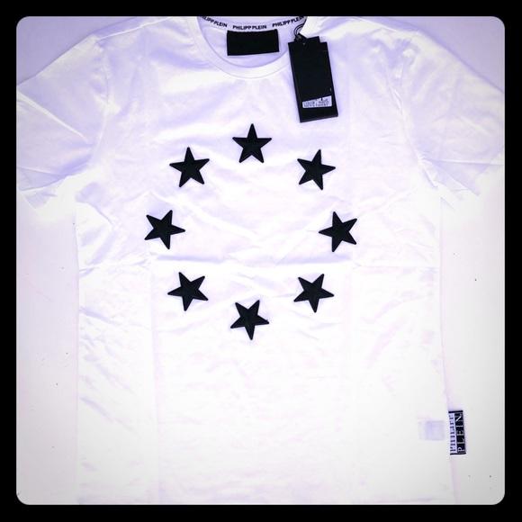 Philipp Plein Shirts   Starembroidered Tshirt Mens M   Poshmark bf174460b0
